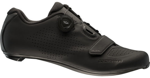 Bontrager Velocis Road Shoe - Wide Color: Black