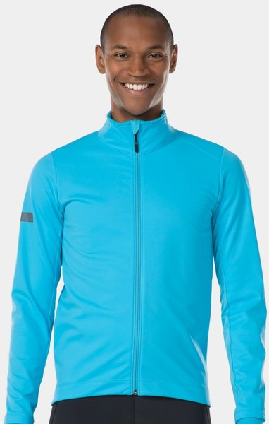 Bontrager Velocis Softshell Cycling Jacket Color: Azure