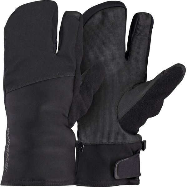 Bontrager Velocis Softshell Split Finger Cycling Glove Color: Black