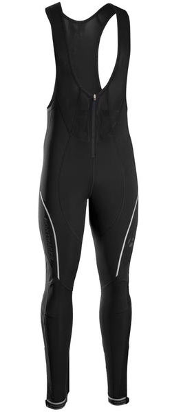 Bontrager Velocis Softshell Bib Tights Color: Black