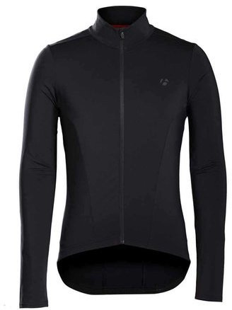 Bontrager Velocis Thermal Long Sleeve Jersey Color: Black