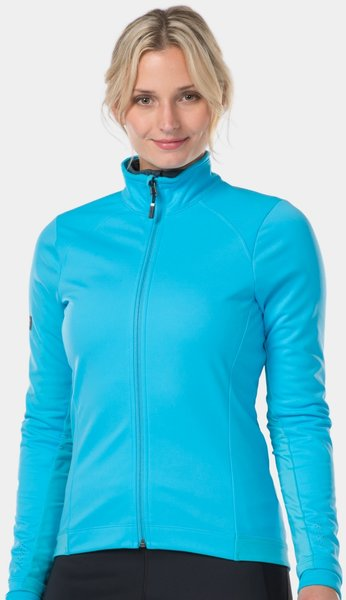 Bontrager Velocis Women's Softshell Cycling Jacket Color: Azure