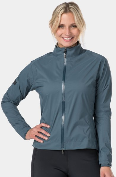 Bontrager Velocis Women's Stormshell Cycling Jacket Color: Battleship Blue