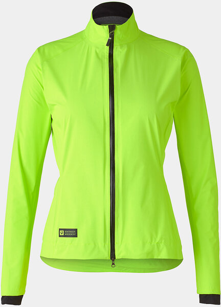 Bontrager Velocis Women's Stormshell Cycling Jacket Color: Volt
