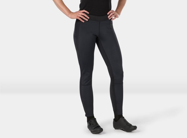 Bontrager Velocis Women's Unpadded Softshell Cycling Tight Color: Black