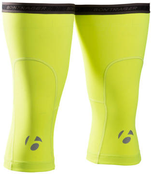 Bontrager Visibility Thermal Knee Warmers Color: Visibility Yellow