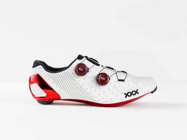 Bontrager XXX Road LTD Color: White/Red Chrome