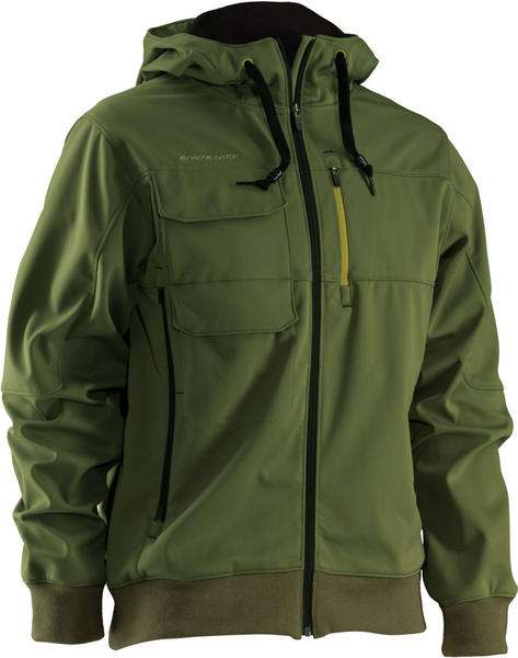 Bontrager Rhythm Softshell Hoodie Jacket Color: Green