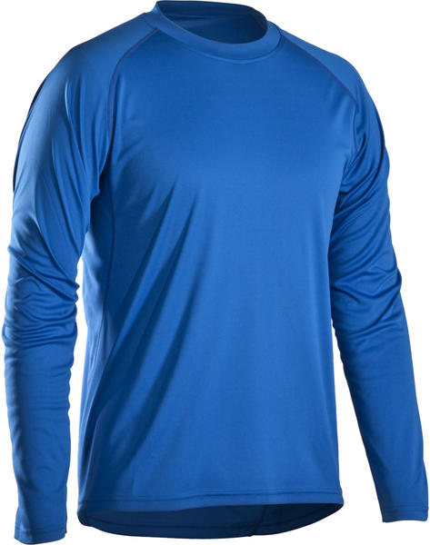 Bontrager Solstice Long Sleeve Tech Tee Color: Blue