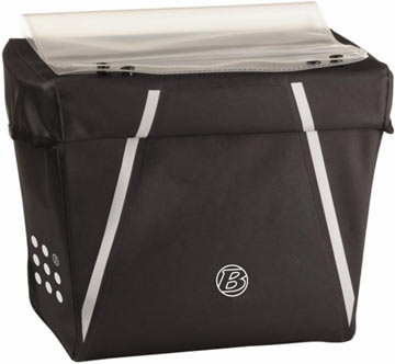 Bontrager Interchange Waterproof Handlebar Bag Color: Black