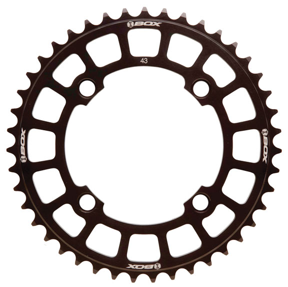 BOX Cosine Chainring Color: Black