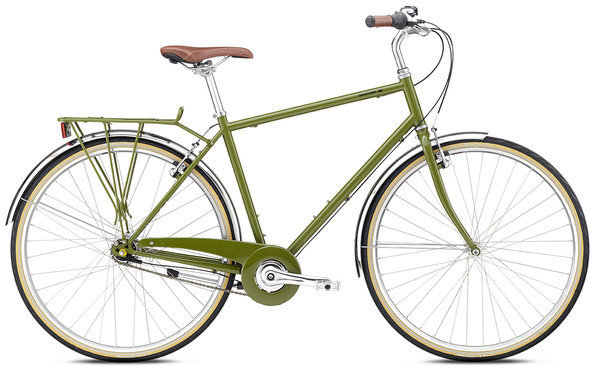 Breezer Downtown 7 Color: Olive Green