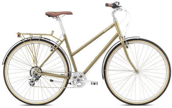 Breezer Downtown EX ST Color: Metallic Gold