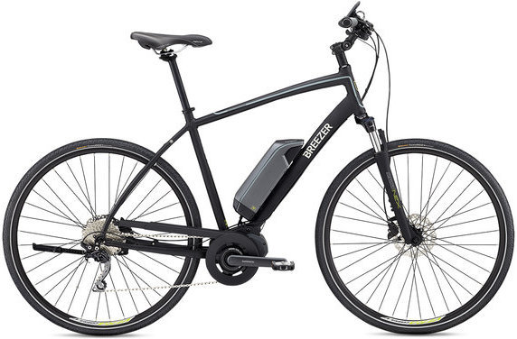 Breezer Greenway Color: Satin Black