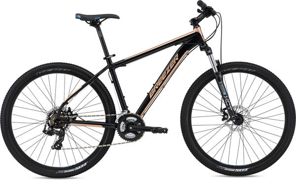 Breezer Storm 27.5 Color: Black/Gold