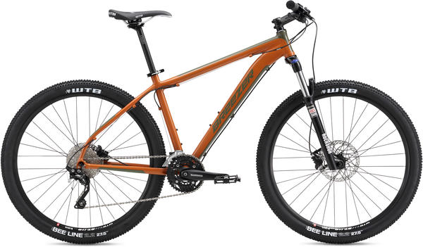 Breezer Storm 27.5 Expert Color: Orange/Dark Green