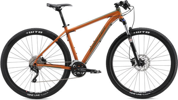 Breezer Storm 29 Expert Color: Orange/Dark Green