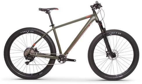 Breezer Thunder 27.5+ Team Color: Matte Forest Green/Gloss Orange