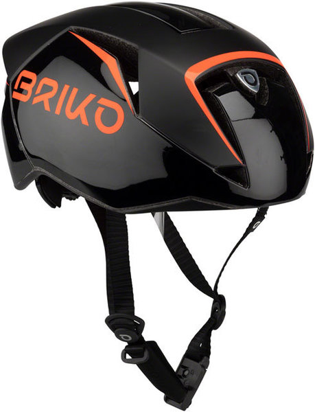 Briko Gass Fluid Helmet Color: Black/Orange Fluo