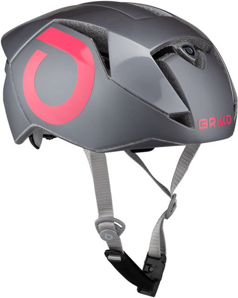 Briko Gass Helmet Color: Matte Pink/Metal Gray