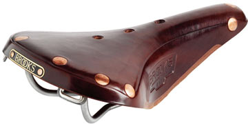 Brooks B17 Special Titanium Color: Antique Brown