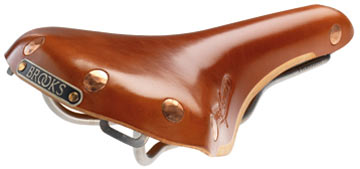 Brooks Saddles Swift Ti Color: Honey