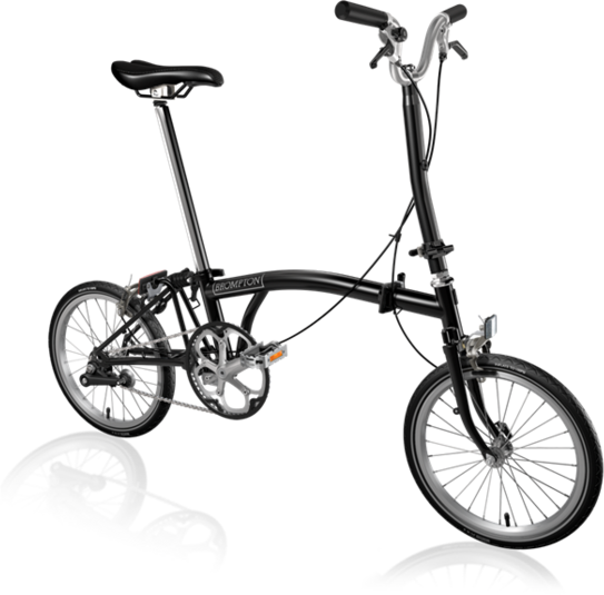 Brompton 1-Speed Color: Black