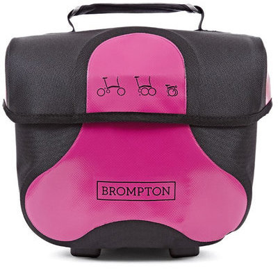 Brompton Mini O Bag Color: Berry Crush