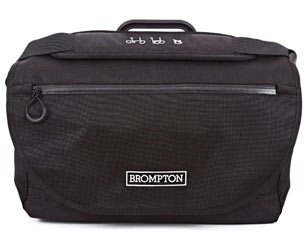 Brompton S Bag Color: Black w/Black Flap