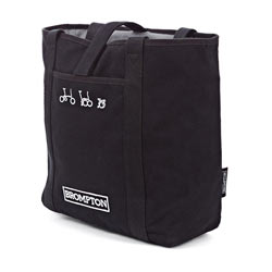 Brompton Tote Bag Color: Black