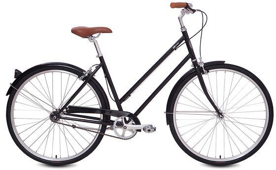 Brooklyn Bicycle Co. Franklin Single Speed Color: Gloss Black