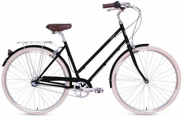 Brooklyn Bicycle Co. Willow 3 Speed Color: Gloss Black