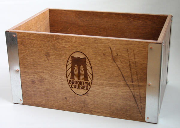Brooklyn Bicycle Co. Wooden Bike Crate