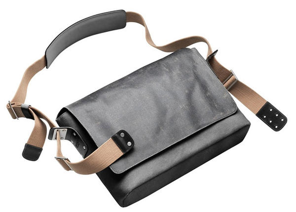 Brooks Barbican Messenger Bag Color: Asphalt