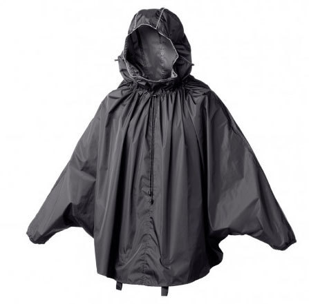 Brooks Cambridge Stowable Rain Cape Color: Black