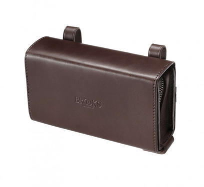 Brooks D-Shaped Tool Bag Color: Antique Brown