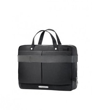 Brooks New Street Briefcase Color: Black
