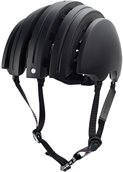 Brooks JB Special Carrera Foldable Helmet Color: Black/Black
