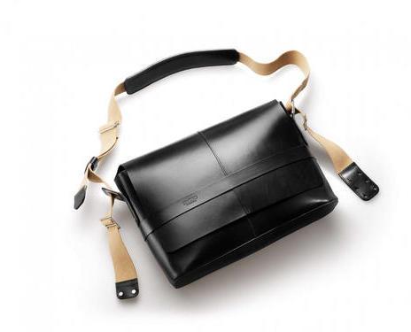 Brooks Barbican Hard Leather Shoulder Bag