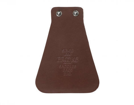 Brooks Leather Mud Flap Color: Brown