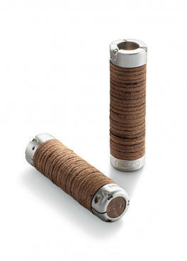 Brooks Plump Leather Grips Color: Brown