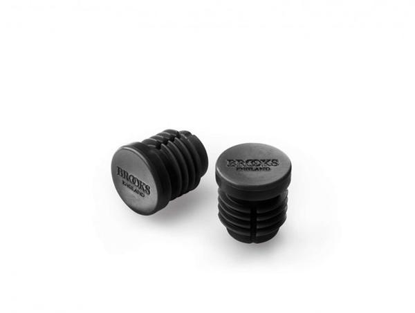 Brooks Rubber Bar End Plugs Color: Black