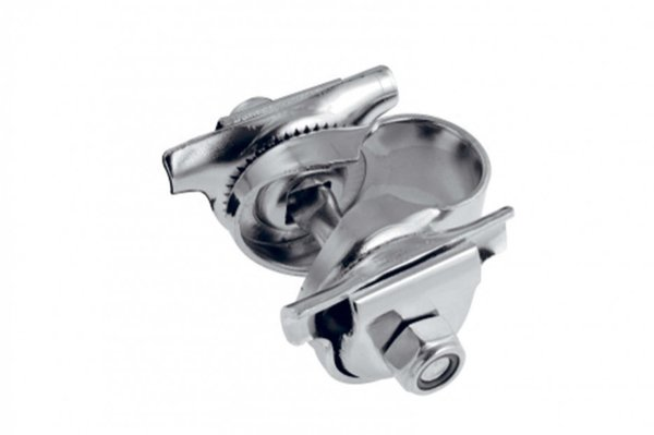 Brooks Single Rail Clamp - BYB 101 Color: Chrome