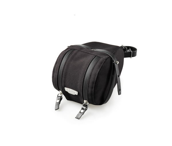 Brooks Isle of Wight Saddle Bag Color: Black/Black