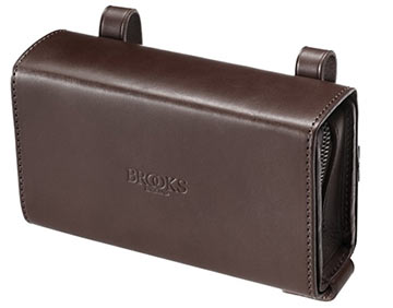 Brooks D-Shaped Tool Bag Color: Brown