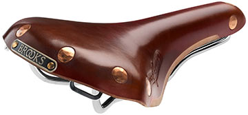 Brooks Swift Chrome Color: Antique Brown