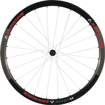Bontrager Aeolus 3 D3 Front Wheel (Tubular) Color: Red