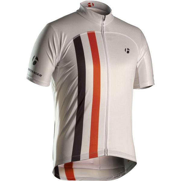 Bontrager Replica Retro Racing Short Sleeve Jersey Color: Red/White