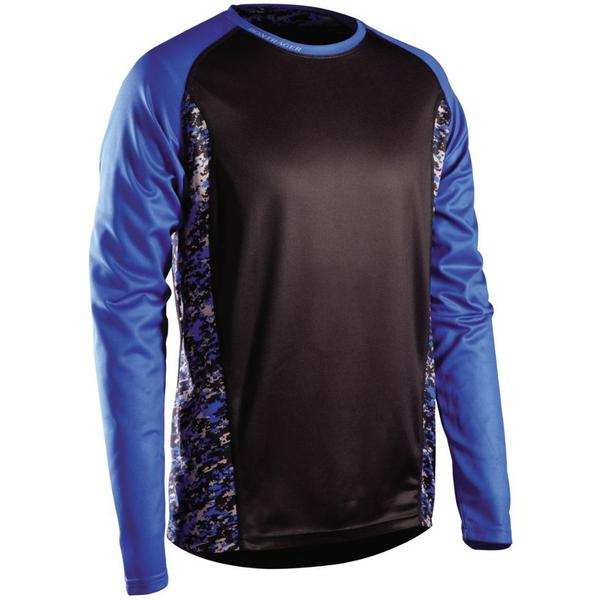 Bontrager Rhythm Long Sleeve Jersey Color: Blue