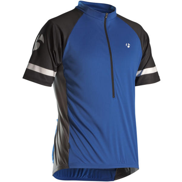 Bontrager Solstice Short Sleeve Jersey Color: Blue/Black